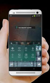 Cave labyrinth Keypad Cover apk screenshot