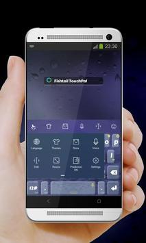 Fishtail Keypad Cover apk screenshot