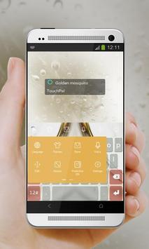 Golden mosquito Keypad Cover apk screenshot