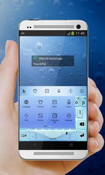 Glacial mornings Keypad Cover apk screenshot