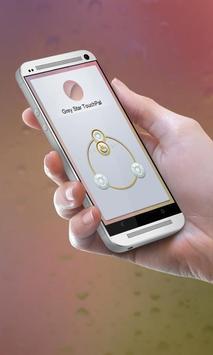 Grey Star Keypad Cover apk screenshot
