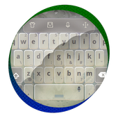 Grey Teal Keypad Cover icon
