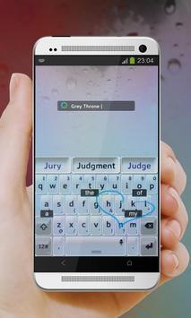 Grey Throne Keypad Cover apk screenshot