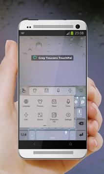 Grey Toucans Keypad Cover apk screenshot