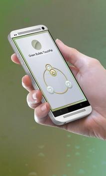 Green Bullets Keypad Cover apk screenshot