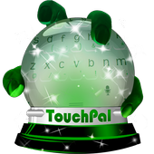 Green eyes Keypad Cover icon