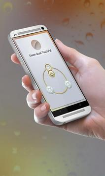Green Quail Keypad Cover apk screenshot