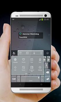 Hammer Watchdog Keypad Cover apk screenshot