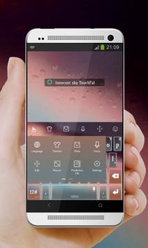 Innocent sky Keypad Cover screenshot 1