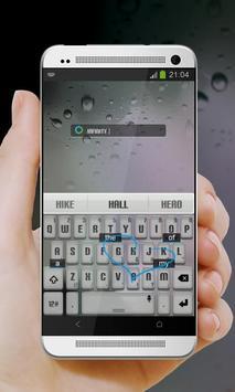Infinity Keypad Cover apk screenshot