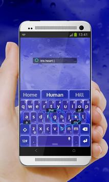 Iris heart Keypad Cover screenshot 3