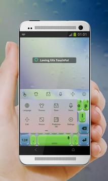 Loving life Keypad Cover apk screenshot