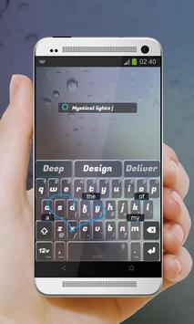 Mystical lights Keypad Cover apk screenshot