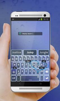 Pearly moon Keypad Cover apk screenshot