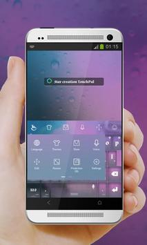 Star creation Keypad Cover apk screenshot