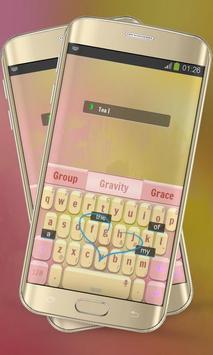 Tea Keypad Layout apk screenshot