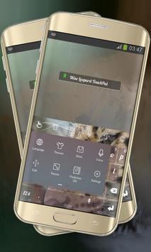 Wise Leopard Keypad Layout apk screenshot