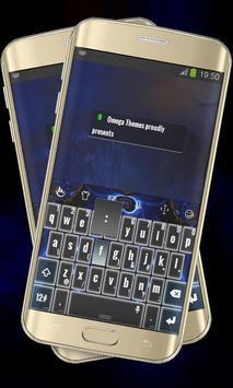 Blue magic Keypad Layout poster
