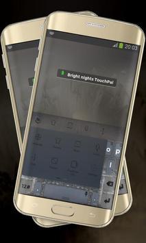 Bright nights Keypad Layout apk screenshot