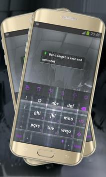 Electronic black Keypad Layout apk screenshot
