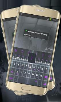Electronic black Keypad Layout poster