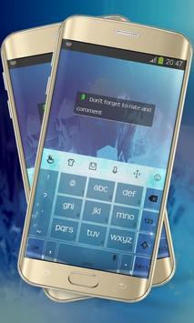 Energy splash Keypad Layout apk screenshot