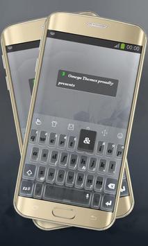 Grey Mist Keypad Layout poster