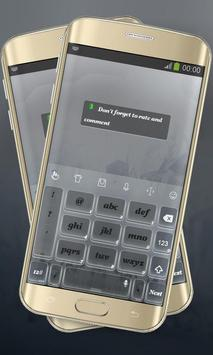 Grey Mist Keypad Layout apk screenshot
