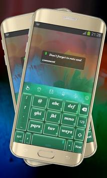 Green Matter Keypad Layout apk screenshot