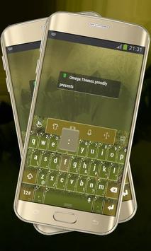 Green Prairie Keypad Layout poster