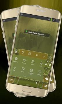 Green Prairie Keypad Layout apk screenshot