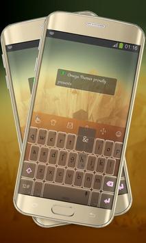 Increased Brown Keypad Layout apk screenshot