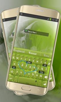 Lime Green Keypad Layout screenshot 2
