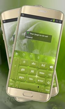 Lime Green Keypad Layout screenshot 3