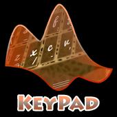 Lying Cheetah Keypad Layout icon
