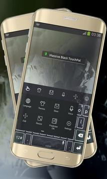 Massive Black Keypad Layout apk screenshot