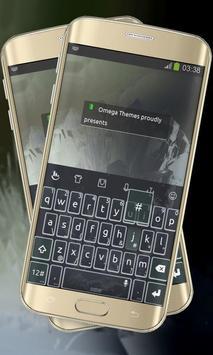 Massive Black Keypad Layout poster
