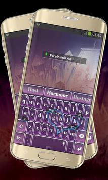 Massive Purple Keypad Layout apk screenshot
