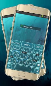 Neon stars Keypad Layout screenshot 2