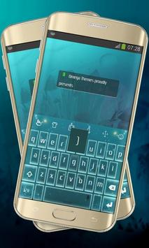 Neon stars Keypad Layout screenshot 4