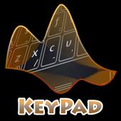 Night Portrait Keypad Layout icon