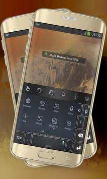 Night Portrait Keypad Layout apk screenshot