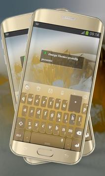 Orange Simplicity Keypad poster