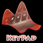 Orange Sketch Keypad Layout icon
