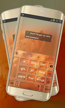 Orange Paint Keypad Layout screenshot 6