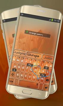 Orange Paint Keypad Layout screenshot 5
