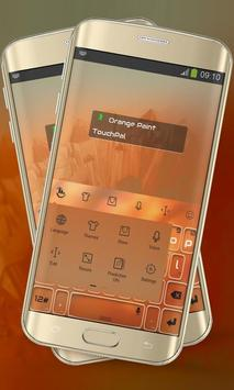 Orange Paint Keypad Layout screenshot 8