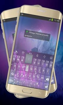 Pink Sweep Keypad Layout poster