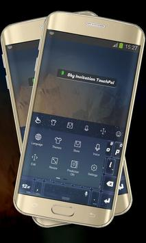 Sky Invitation Keypad Layout apk screenshot