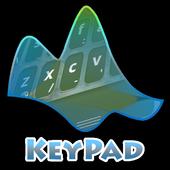 Sky reflection Keypad Layout icon